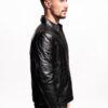 Muška kožna jakna - Antonio - Crna