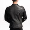 Muška kožna jakna - Invento I-7 - Crna