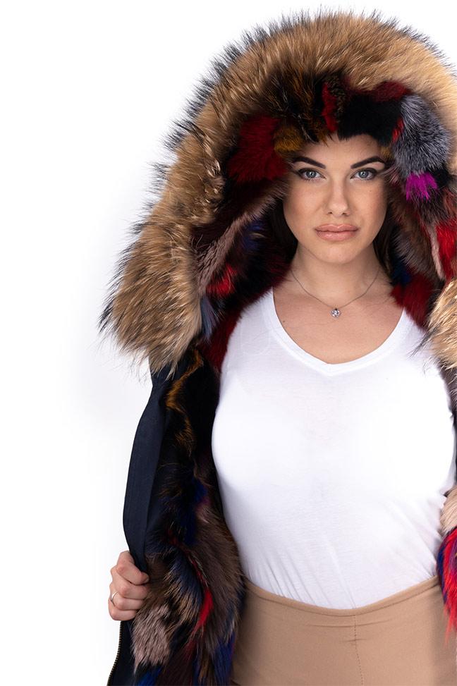 Ženska zimska jakna - Parka - Fratteli Gala - Teget