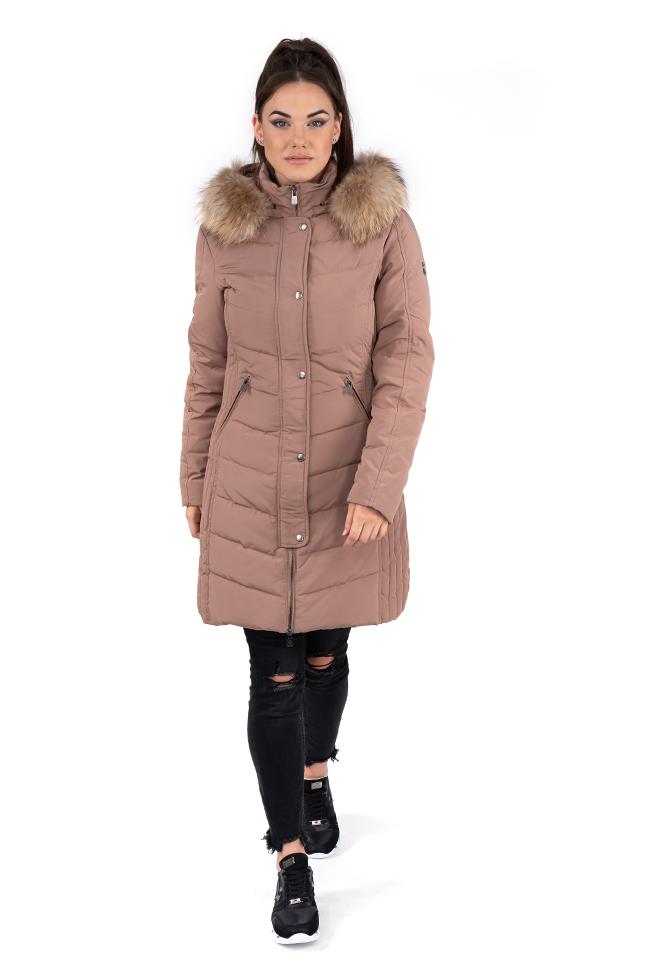 Ženska zimska jakna - Sportska i Casual - Invento Endless - Bež