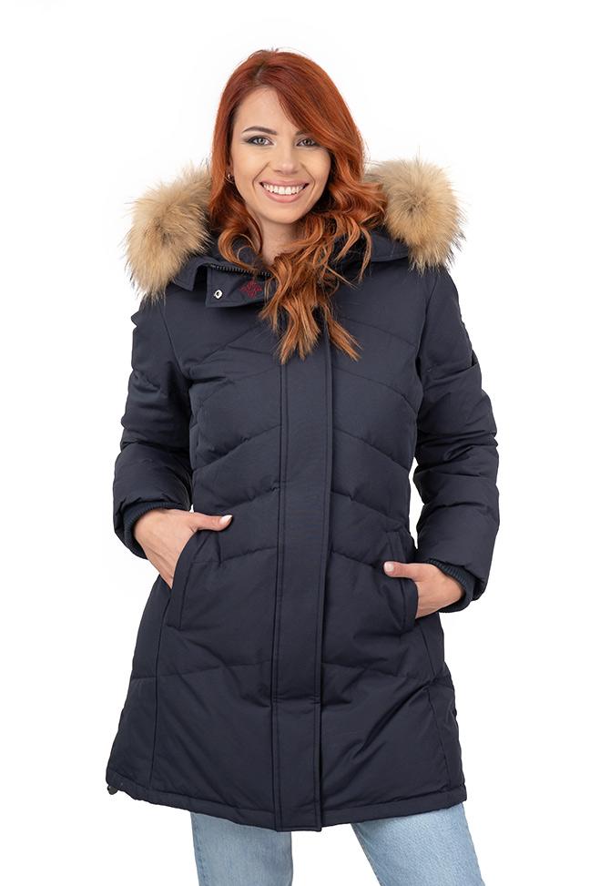 Ženska zimska jakna - Sportska i Casual - Invento Izzy - Teget