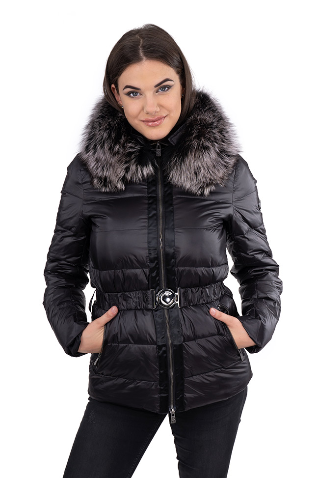 Ženska zimska jakna - Sportska i Casual - Invento Jessy - Crna